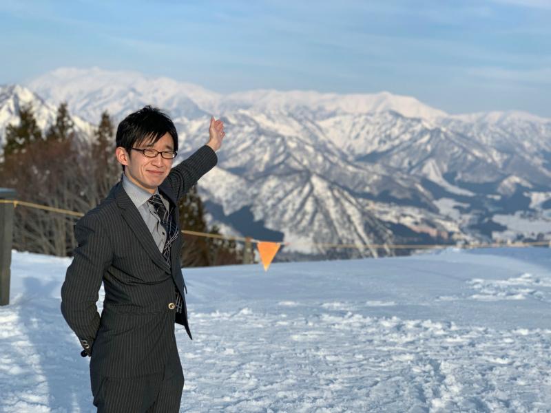 冬の新潟・越後湯沢出張!