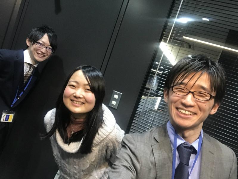 東京オフィスにスタッフさんが来てくれました!